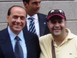 Silvio Berlusconi e Comendador Marcio Borlenghi Fasano