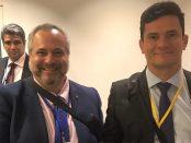 Dr Marcio Borlenghi Fasano e Juiz Federal, Dr Sergio Moro