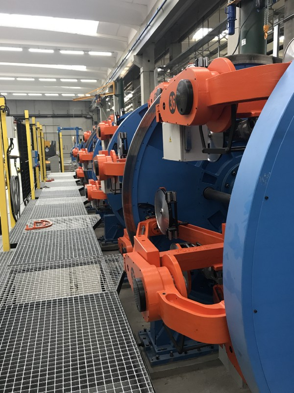 The cable-maker has been successful in attracting local and national government investment in the UK and Dr Bragagni has led the company through major investment in new facilities, creating much needed employment and state of the art centres of excellence for manufacturing and developing next-generation cables.