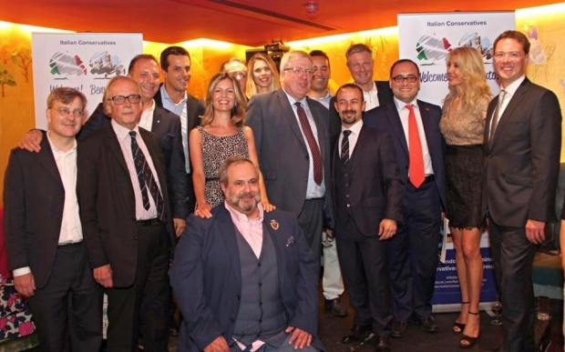 Italian Conservatives - Celebrating 2 years with special guests, patrons and officers