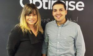 Joizer Santos e Gabriela Guanais reforçam time da Optimise