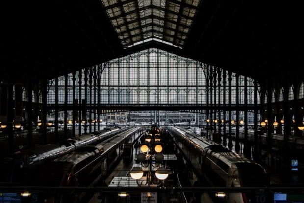 Terminal Eurostar, Paris.
