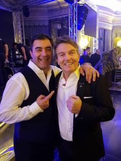 Joe Ricotta and Bradley Walsh