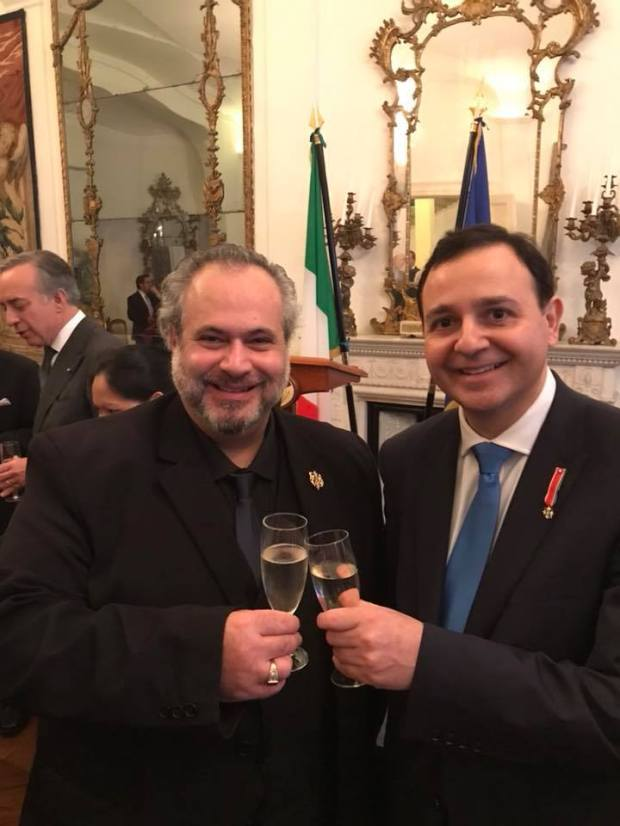 Comm. Marcio Borlenghi Fasano and Comm. Alberto Costa, MP