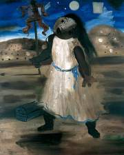 Candido Portinari The Scarecrow (The Half-Wit), 1940