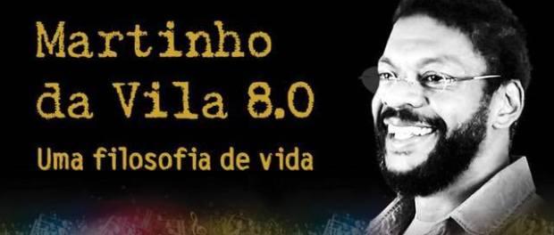 Martinho 8.0 no teatro J Safra de 3 a 12/8