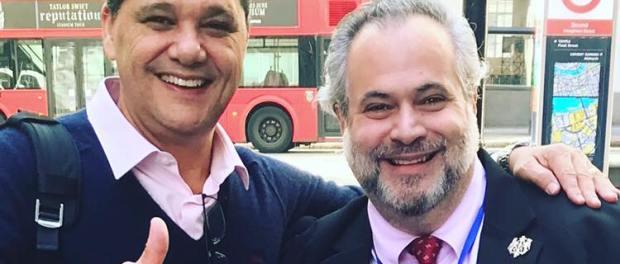 Ricardo Ferraço e Marcio Borlenghi Fasano