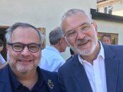 Marcio Fasano and Andrew Boff